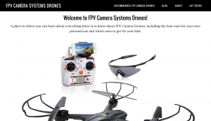 FPV Camera Systems Drones