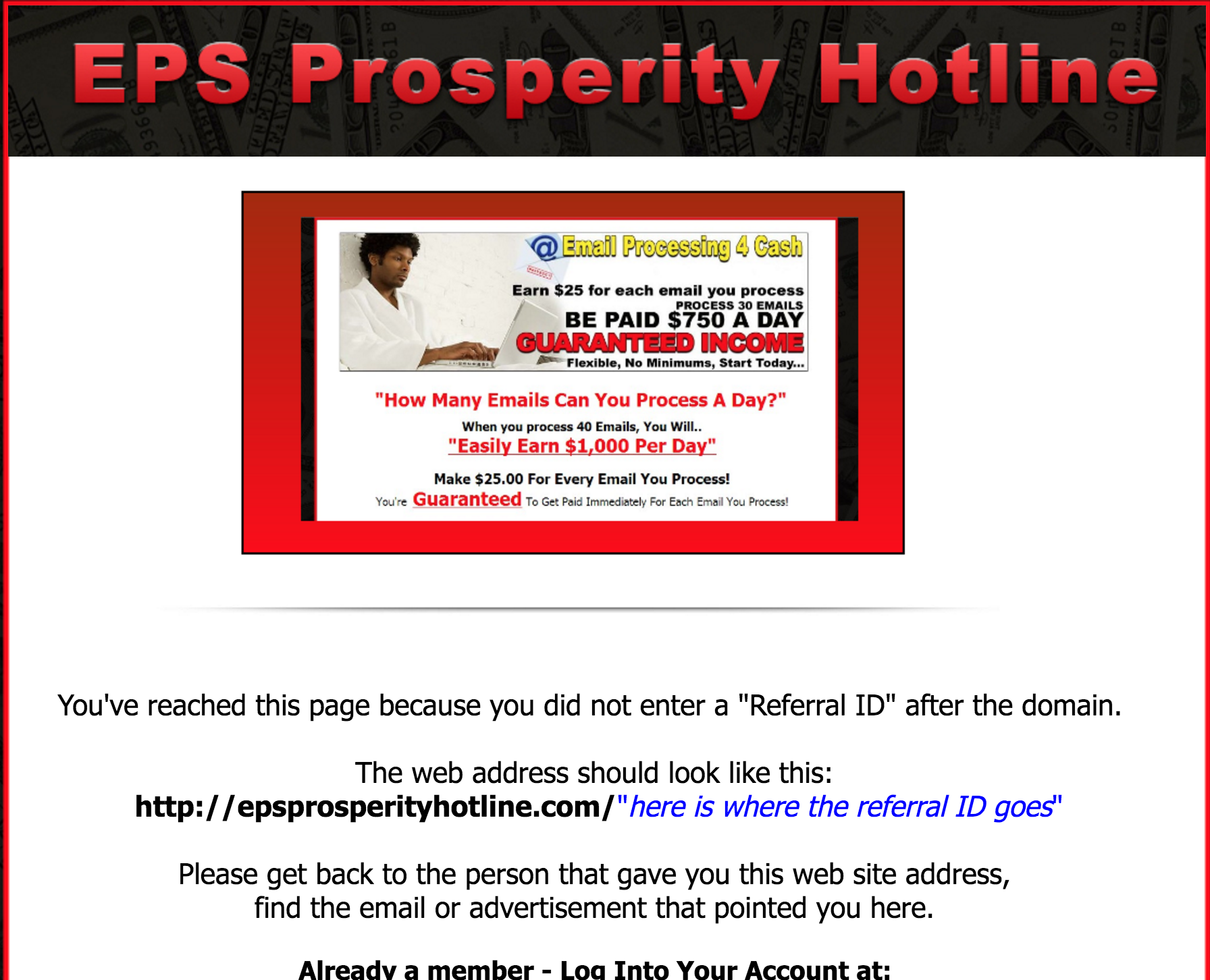 EPS Prosperity Hotline review