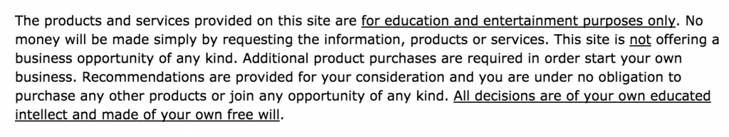This mentions there will be upsells too