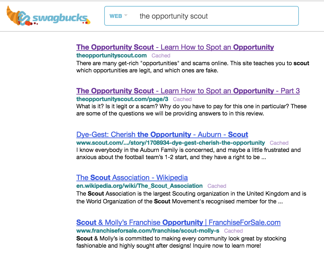 Earn 1000 swagbucks a day - On Swagbucks They Have A Search Engine Powered By Yahoo You Can Earn Sb Points For Conducting Searches Using This Search Engine